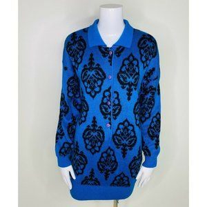 Ouiset Vintage Sweater Dress Wool
